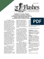 October 2006 Flicker Flashes Birmingham Audubon Society Newsletter