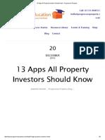 13 Apps All Property Investors Should Know – Progressive Property