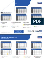Calendario Cursos x Semestres 2015 SKF