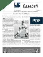 Baseball Fall News