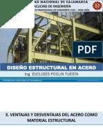 03. Ventajas y Desventajas Del Acero Como Material Estructural (Diseño Estructural en Acero)
