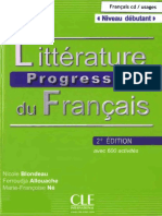 CLE Littérature progressive du français (2e édition, 2013). Niveau débutant.pdf