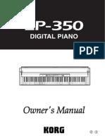Manual de Instrucciones Del LP-350