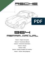 Porsche 964 Workshop Manual