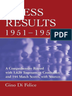 Chess Results, 1951-1960 - A Comprehensive Record
