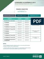 2017 Calendario Academico Distancia