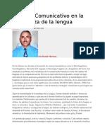 Enfoque Comunicativo en la enseñanza de la lengua.docx