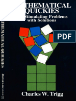 Mathematical Quickies - 270 Stimulating Problems with Solutions.pdf