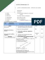 SEM4- 1°AÑO-IIB- RECTAS PARALELAS Y SECANTE