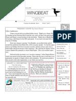 Jan-Feb 2003 WingBeat Cullman Audubon Society Newsletter