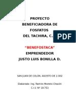 Proyecto Fosforita Bonilla