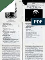 Booklet · Toscanini · Ravel · Dukas
