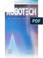 Robotech 20th Anniv Edition Soundtrack OST 2005