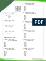2.- Ecuaciones y Planteo 1º 2ºa
