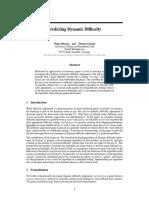 4302 Predicting Dynamic Difficulty