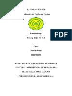 Lapkas Peritonitis Dr. Asep