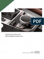 Audi Navigation System Plus - MMI Operating Manual