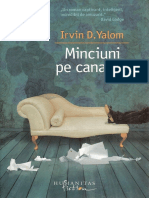 Irvin d Yalom Minciuni Pe Canapea