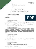 Stenograma sedinta de guvern 31 01 2017