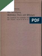 Vertilgung schädlicher Tiere und  Pflanzen - Siefried Undresen 1912