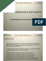 1_2 Ingeniería de Planta - Localización de Plantas (LO) [Modo de Compatibilidad]