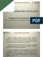 1_3 Ingeniería de Planta - Categorización Industrial (NCA)