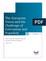 The EU and the Challenge of Extremism and Populism- EHF