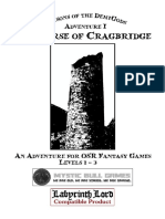 Labyrinth Lord - Prisons of the Demigods - Adventure 1 - The Curse of Cragbridge