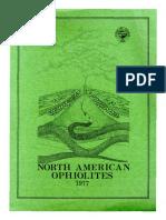 North America Ophiolites Coleman 1977