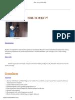 Boiler Survey _ Marine Study