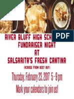 Salsarita's RBHS PTO Flyer