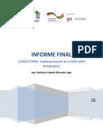 Consultoria Informe Final de DIELAS