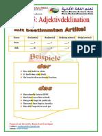 96 Adjektivdeklination -