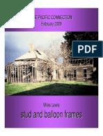 Stud Balloon Frames