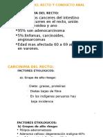 Cancer y Trauma Anorectal