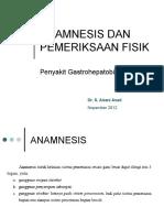 Anamnesis Dan Pemeriksaan Fisik Penyakit Gastrohepatobilier