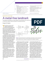 Nature Chemistry Volume 6 Issue 11 2014 [Doi 10.1038%2Fnchem.2093] Stephan, Douglas W. -- Frustrated Lewis Pairs- A Metal-free Landmark