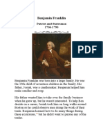 Biographya Benjamin Franklin