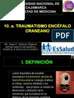 10 TRAUMATISMO ENCÉFALO CRANEANO