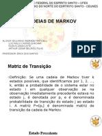 Cadeias de Markov