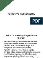 Palliative cystectomy