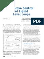 Improve Control of Liquid Level Loops