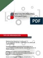 Metalworking Stamping Valores y Organigrama