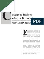 Lectura Conceptos Basicos de Tecnologia BETANCUR