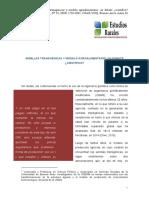 SEMILLAS TRANSGÉNICAS Y MODELO AGROALIMENTARIO
