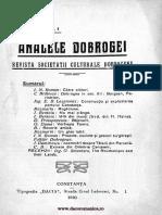 Analele Dobrogei, 1920, nr1.pdf