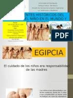 Antecedentes Del Cuidado de Los Niños en México y en El Mundo.