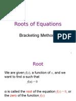 Error Analysis for Braketing Methods.ppt