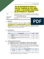 AL_001_Tubería de Alcantarillado y Cachimba