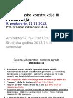 AK III 9.Predavanje 13 14